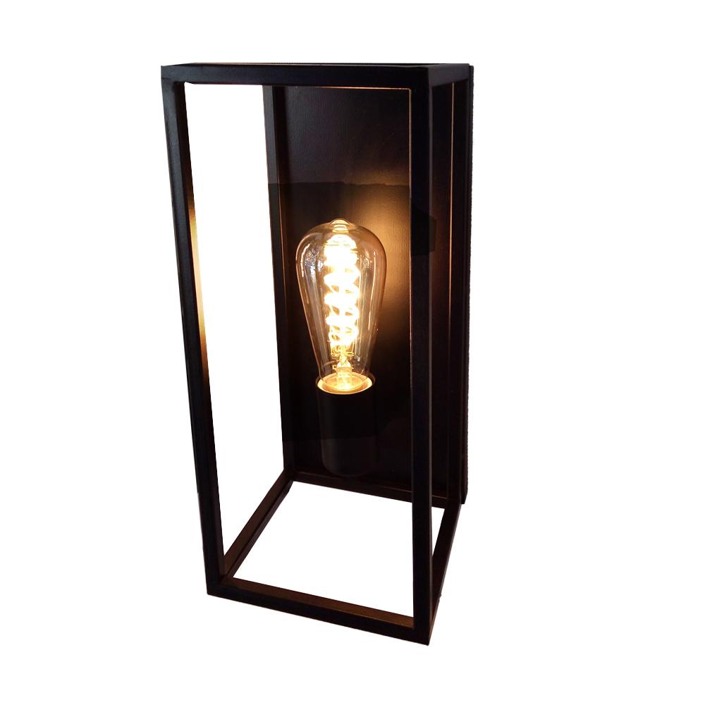 چراغ دیواری مستطیل با لامپ